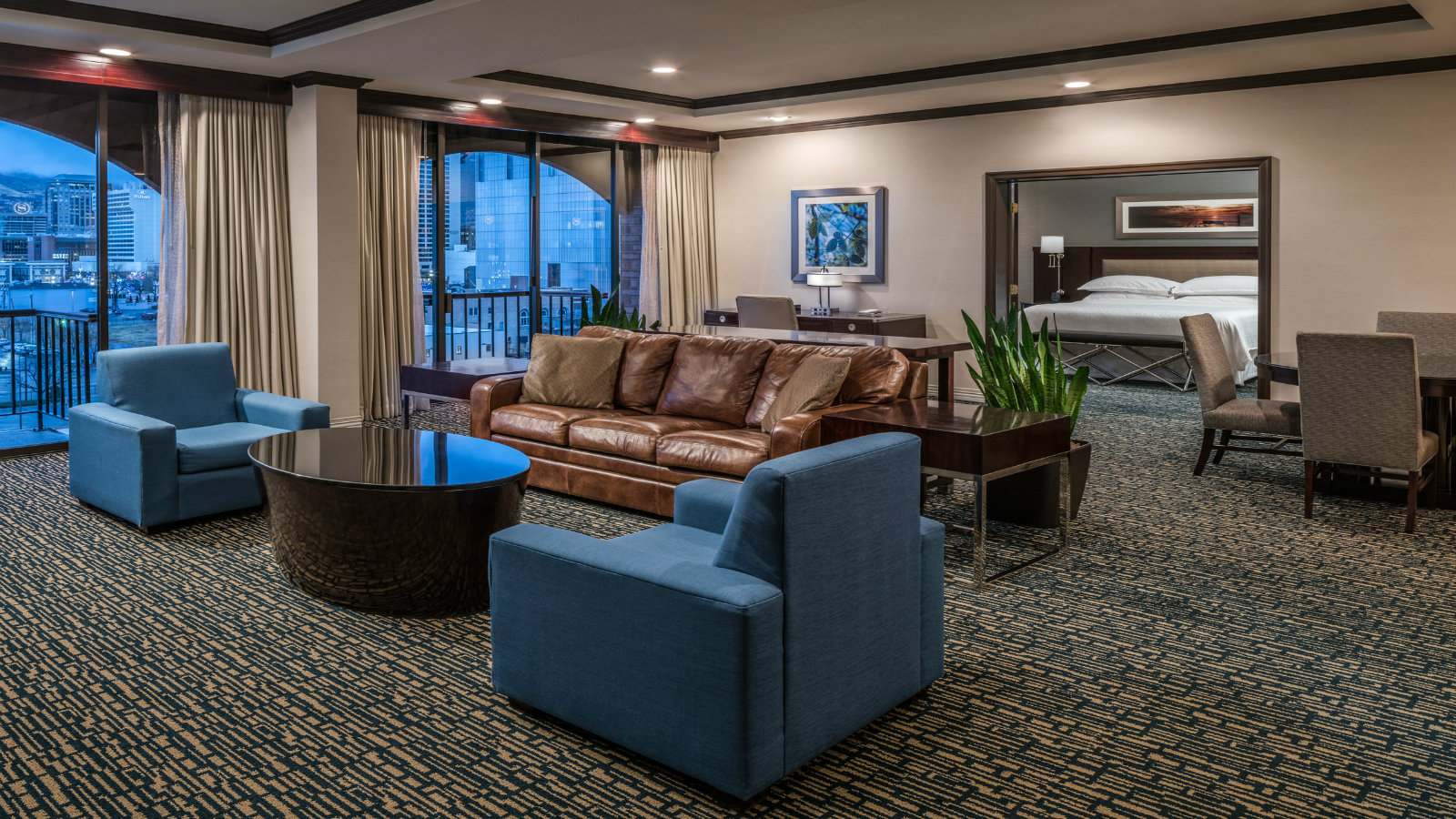 Chairman Suite | Sheraton Salt Lake City